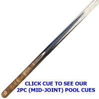 Newberry 2pc pool cue from Blue Moon Leisure