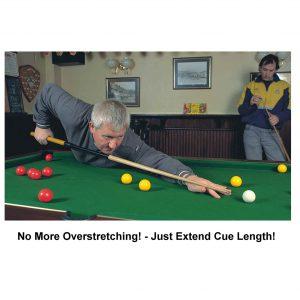 Make the pool cue longer!
