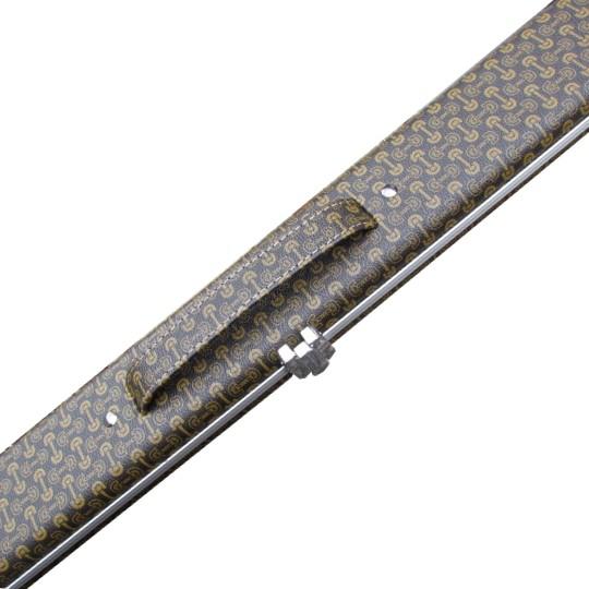 1pc Chain Pattern Cue Case Slim Amp Foam Interior