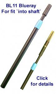 Blueray BL11 telescopic snooker cue extension.