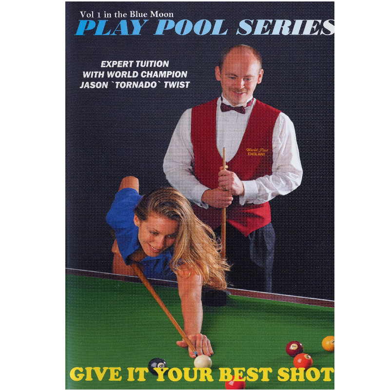 Pool Coaching DVD - Give it your best shot.
