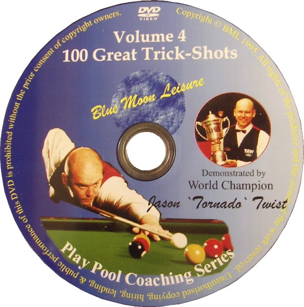 100 Great Trick-shots - Pool Trickshot DVD