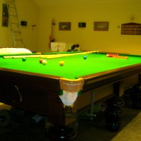 Second hand snooker and pool tables for sale