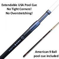 Cueplus 505 USA American telescopic pool cue