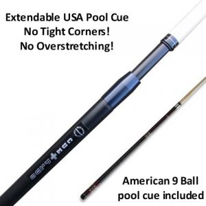 Cueplus 505 USA American telescopic pool cue