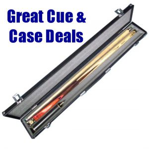 Xmas BCE Heritage cue and case deal