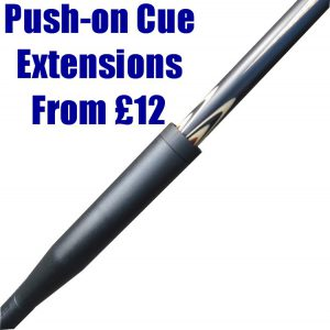 Snooker push-on cue extension