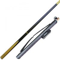 Brayford Blue 8mm pool cue for English Pool with cue case from Blue Moon Leisure