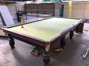12 ft snooker table