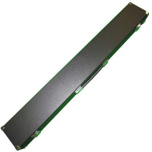 2 pc snooker cue case that also holds Extenda push-on cue extension